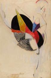 А.А. Экстер. Танцовщица. 1916