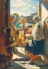 А.И. ЛАКТИОНОВ. Письмо с фронта. 1947