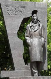 В.Е. Цигаль. Памятник Герою Советского Союза Рихарду Зорге в Москве. 1985