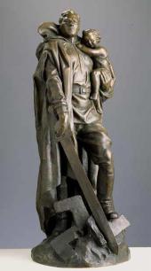 Е.В. ВУЧЕTИЧ. Воин-освободитель. 1948