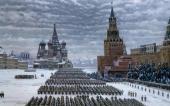 К.Ф. ЮОН. Парад на Красной площади в Москве 7 ноября 1941 года. 1949