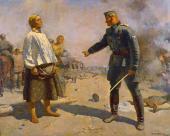 С.В. ГЕРАСИМОВ. Мать партизана. 1943