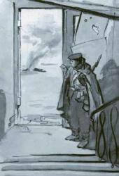В.Е. ЦИГАЛЬ. Новороссийск. Уличные бои. 1943