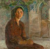 И.В. Радоман. Эсфирь в Шир-Доре. 1942