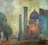 Р.Р. Фальк. Самарканд. 1942–1943