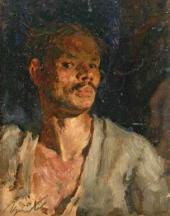 В.Г. Цыплаков. Автопортрет. 1943