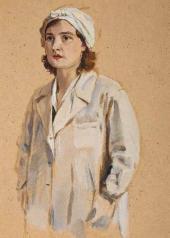 В.О. Кириков. Медсестра. 1941–1945