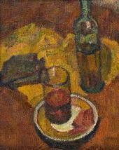 Р.С. Затуловская (Михайлова). Стакан чая. 1943