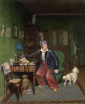 Завтрак аристократа. 1849–1850