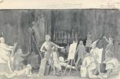 «Бельведерский торс». Пьянство академистов. 1841