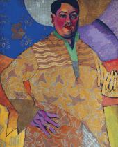 "А.В. ЛЕНТУЛОВ. Автопортрет ""Le Grand Peintre"". 1915"