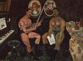 И.И.МАШКОВ. Автопортрет и портрет Петра Кончаловского. 1910