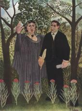 Анри РУССО. Поэт и муза. 1909