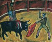 Бой быков. 1910