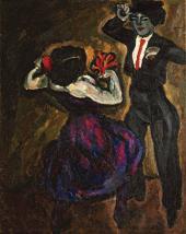 П.П. КОНЧАЛОВСКИЙ. Испанский танец. 1910