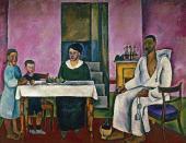 П.П.КОНЧАЛОВСКИЙ. Семейный портрет (сиенский). 1912