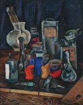 П.П.КОНЧАЛОВСКИЙ. Сухие краски. 1913