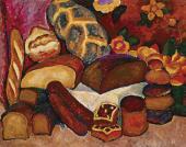 И.И.МАШКОВ. Хлебы. 1913