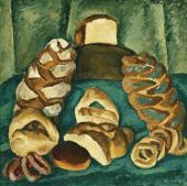 П.П. КОНЧАЛОВСКИЙ. Хлебы на зеленом. 1913