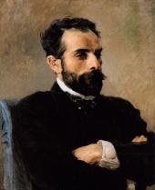 В.Д.ПОЛЕНОВ. Портрет И.И.Левитана. 1891