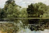 И.И.ЛЕВИТАН. Заросший пруд. 1887