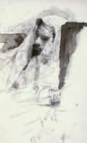 М.В.НЕСТЕРОВ. Левитан в одежде бедуина. 1887