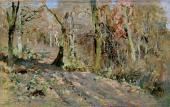 И.И.ЛЕВИТАН. Осенний лес. 1886
