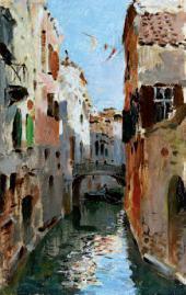 И.И.ЛЕВИТАН. Канал в Венеции. 1890