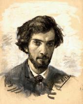 Автопортрет. Первая половина. 1880-х