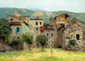 Близ Бордигеры на севере Италии. 1890