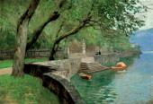 На озере Комо. Набережная. 1894