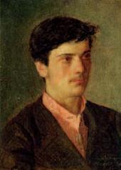 А.И.ЛЕВИТАН. Портрет И.И.Левитана. 1879