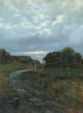 И.И.ЛЕВИТАН. Осень. Дорога в деревне. 1870-е