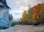 И.И.ЛЕВИТАН. Бабкино. Дом Киселевых. 1885