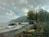 И.И.ЛЕВИТАН. Крымский пейзаж 1887