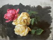 И.И.ЛЕВИТАН. Розы. 1894