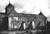 ВИД СОБОРА В 1838–1840. РИСУНОК ЛЕМЕРСЬЕ