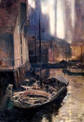 КОНСТАНТИН КОРОВИН. ГАММЕРФЕСТ. СЕВЕРНОЕ СИЯНИЕ. 1894–1895