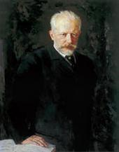 Н.Д. КУЗНЕЦОВ. ПОРТРЕТ КОМПОЗИТОРА ПЕТРА ИЛЬИЧА ЧАЙКОВСКОГО. 1893