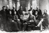 ВЫДАЮЩИЕСЯ КОМПОЗИТОРЫ И МУЗЫКАЛЬНЫЕ ДЕЯТЕЛИ НОРВЕГИИ В 1898 Г. В БЕРГЕНЕ