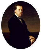 В.Г. ПЕРОВ. ПОРТРЕТ НИКОЛАЯ ГРИГОРЬЕВИЧА РУБИНШТЕЙНА. 1870