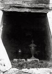 МОГИЛА НИНЫ ГРИГ И ЭДВАРДА ГРИГА. 1935. БЕРГЕН. ФОТОГРАФИЯ