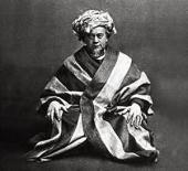 Л. ЛЕОНИДОВ В РОЛИ ПЕРА ГЮНТА. ФОТО. 1906. МУЗЕЙ МХТ