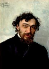 И.Е.Репин. Портрет И.П.Похитонова. 1882