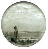 Рыбаки на берегу моря. Конец 1870-х–начало 1880-х