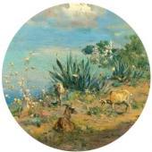 Склон Везувия. 1892