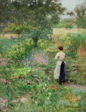 В нашем саду. Жюпиль. 1900-е