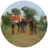Игра в шары. 1910-е