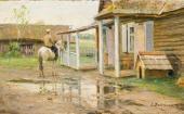 После дождя. Жабовщизна. Начало 1900-х