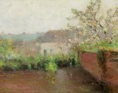 Весенний пейзаж. 1880-e